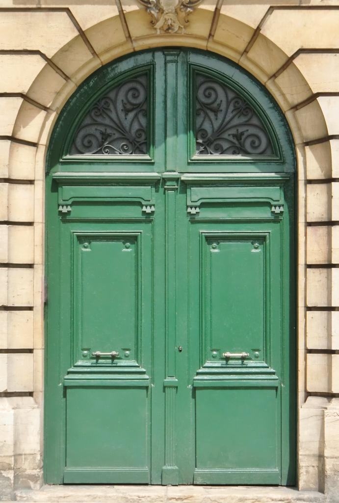 Portes coch res louis xiv for Porte d entree double vantaux