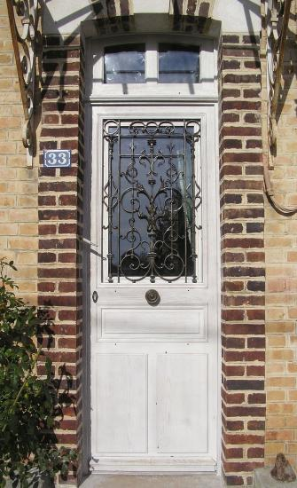 Porte d 39 entree ancienne for Entree maison ancienne